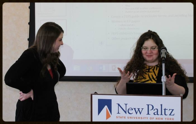 Co-leading the Annual Feminist Evolutionary Perspectives Society Workshop at NEEPS 2014